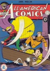 Cover Thumbnail for All-American Comics (DC, 1939 series) #34