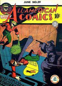 Cover Thumbnail for All-American Comics (DC, 1939 series) #39