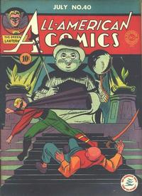 Cover Thumbnail for All-American Comics (DC, 1939 series) #40
