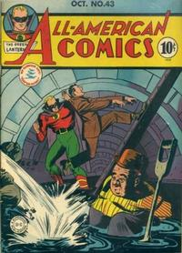 Cover Thumbnail for All-American Comics (DC, 1939 series) #43