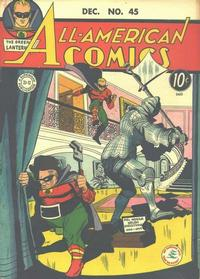 Cover Thumbnail for All-American Comics (DC, 1939 series) #45