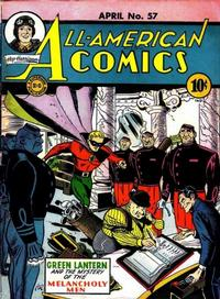 Cover Thumbnail for All-American Comics (DC, 1939 series) #57