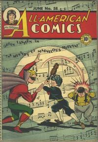 Cover Thumbnail for All-American Comics (DC, 1939 series) #58