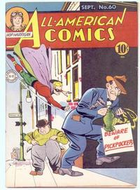Cover Thumbnail for All-American Comics (DC, 1939 series) #60