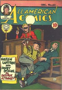 Cover Thumbnail for All-American Comics (DC, 1939 series) #62