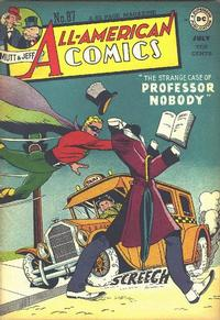 Cover Thumbnail for All-American Comics (DC, 1939 series) #87