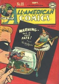 Cover Thumbnail for All-American Comics (DC, 1939 series) #89