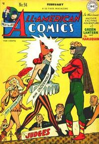 Cover Thumbnail for All-American Comics (DC, 1939 series) #94
