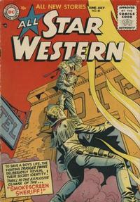Cover Thumbnail for All Star Western (DC, 1951 series) #83