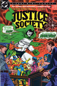 Cover Thumbnail for America vs. the Justice Society (DC, 1985 series) #2
