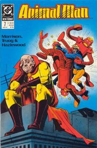 Cover for Animal Man (DC, 1988 series) #7