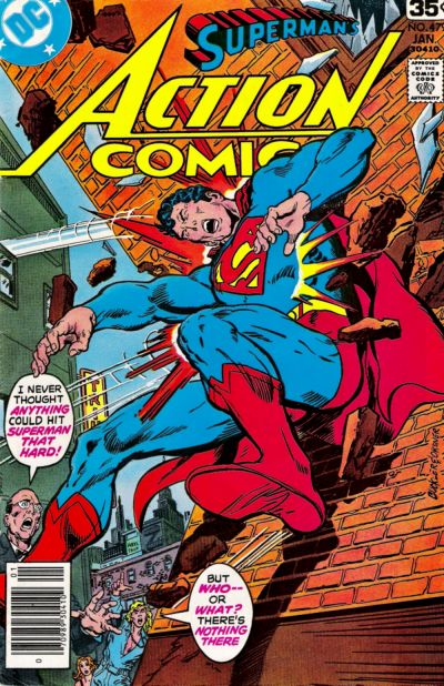 Cover for Action Comics (DC, 1938 series) #479