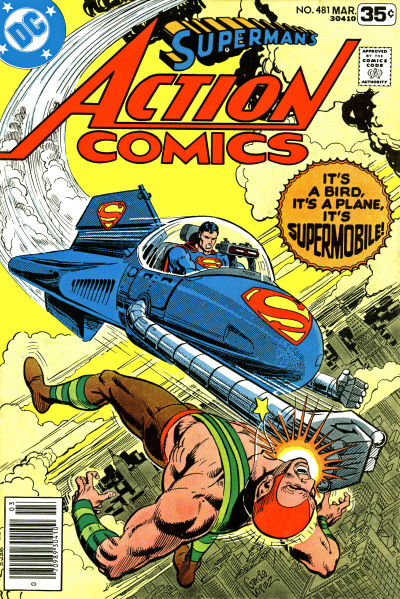 Cover for Action Comics (DC, 1938 series) #481
