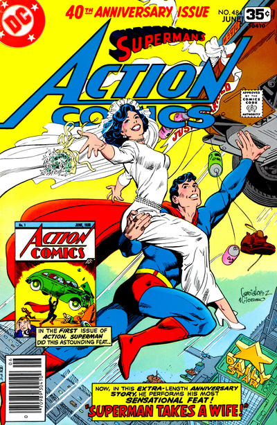 Cover for Action Comics (DC, 1938 series) #484