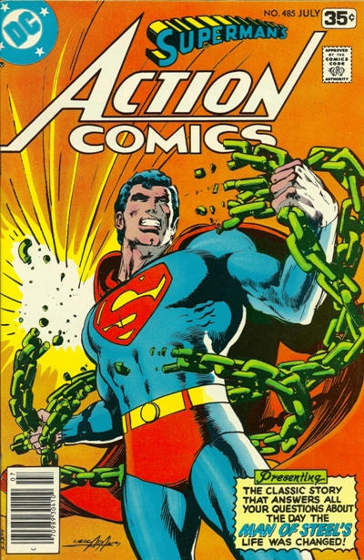 Cover for Action Comics (DC, 1938 series) #485 [Whitman]
