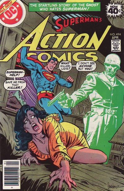 Cover for Action Comics (DC, 1938 series) #494