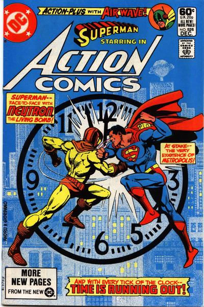 Cover for Action Comics (DC, 1938 series) #526 [Direct]