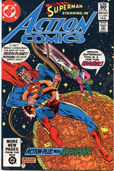 Cover for Action Comics (DC, 1938 series) #528 [Direct Sales]