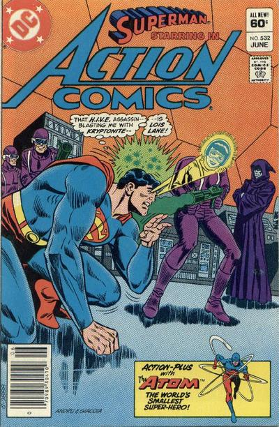 Cover for Action Comics (DC, 1938 series) #532 [Direct Sales]