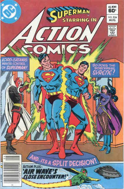 Cover for Action Comics (DC, 1938 series) #534 [Direct Sales]