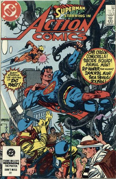 Cover for Action Comics (DC, 1938 series) #552 [Direct-Sales]