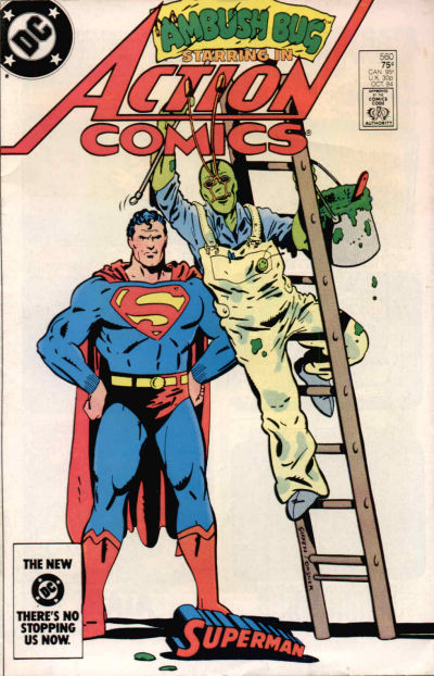 Cover for Action Comics (DC, 1938 series) #560 [direct-sales]