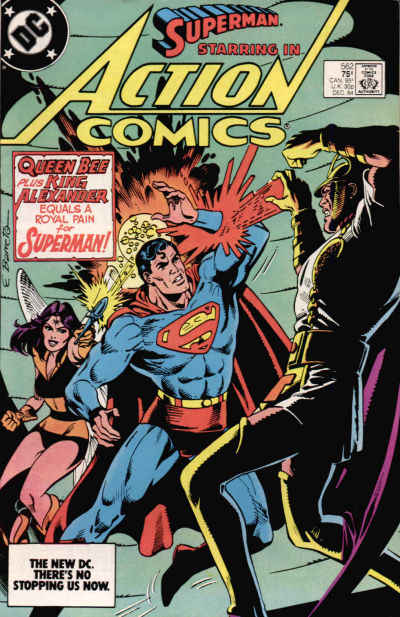 Cover for Action Comics (DC, 1938 series) #562 [Direct]