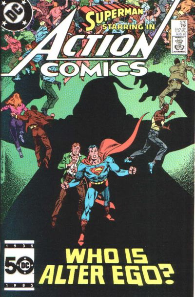 Cover for Action Comics (DC, 1938 series) #570 [Direct]