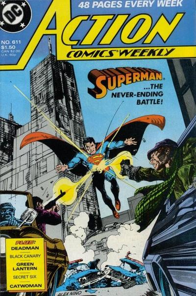 Cover for Action Comics Weekly (DC, 1988 series) #611
