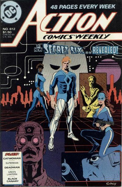 Cover for Action Comics Weekly (DC, 1988 series) #612