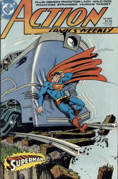 Cover for Action Comics Weekly (DC, 1988 series) #641