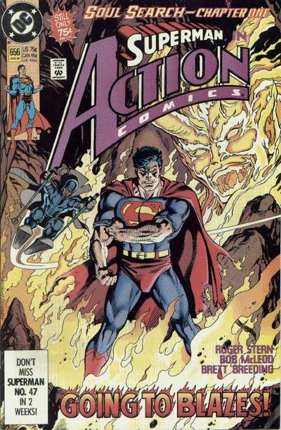 Cover for Action Comics (DC, 1938 series) #656