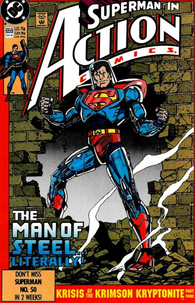 Cover for Action Comics (DC, 1938 series) #659