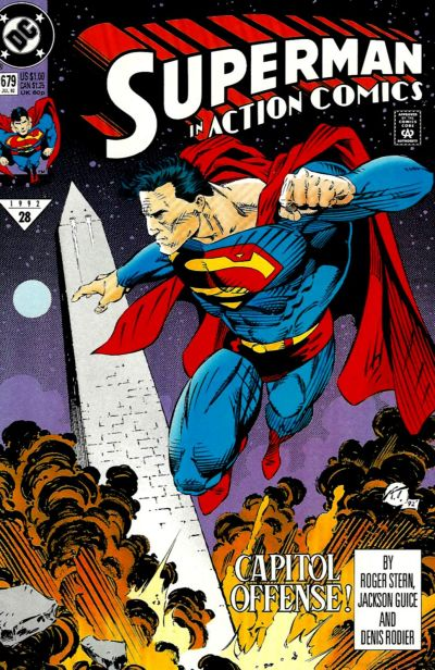 Cover for Action Comics (DC, 1938 series) #679