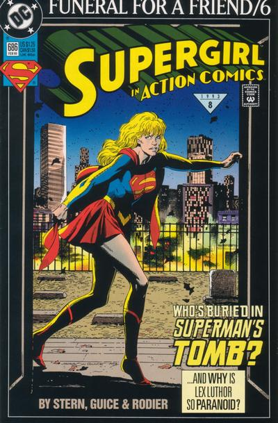 Cover for Action Comics (DC, 1938 series) #686 [Direct]