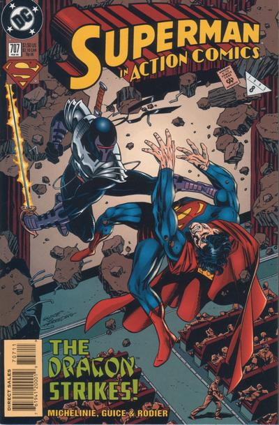 Cover for Action Comics (DC, 1938 series) #707