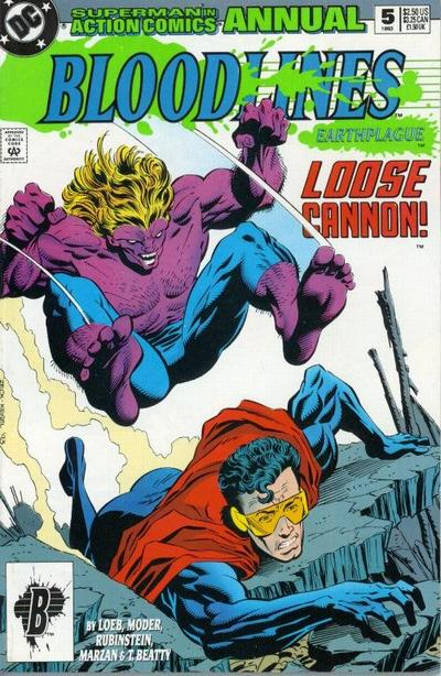 Cover for Action Comics Annual (DC, 1987 series) #5