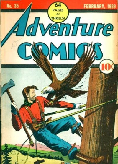 Cover for Adventure Comics (DC, 1938 series) #35