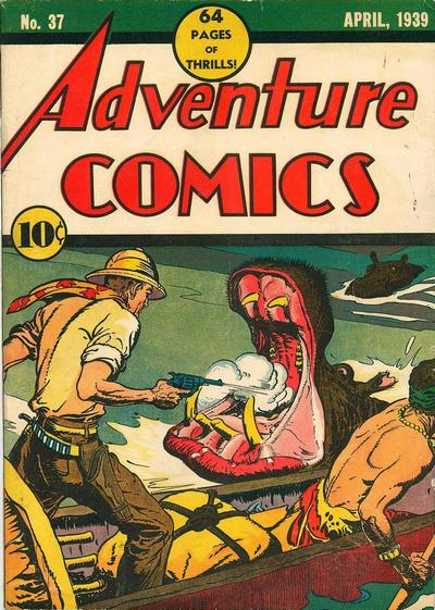 Cover for Adventure Comics (DC, 1938 series) #37