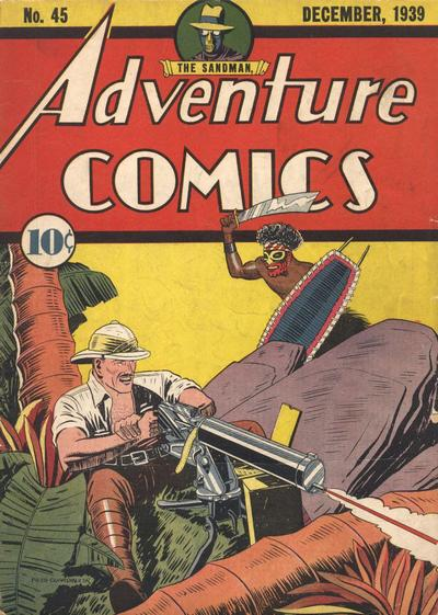 Cover for Adventure Comics (DC, 1938 series) #45