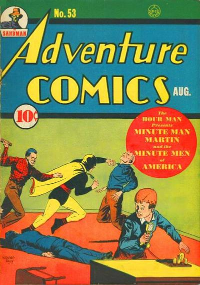 Cover for Adventure Comics (DC, 1938 series) #53