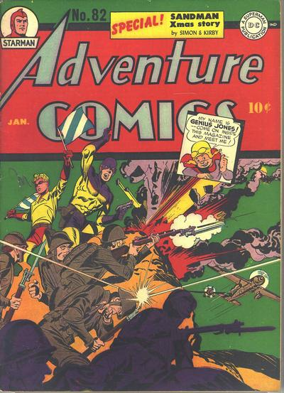 Cover for Adventure Comics (DC, 1938 series) #82