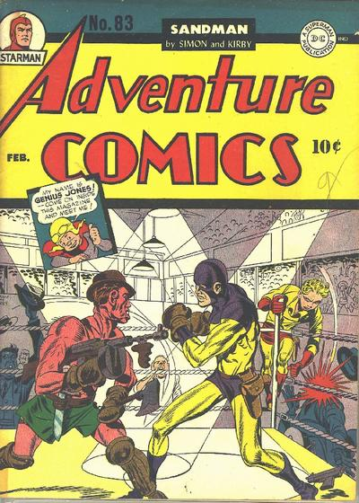 Cover for Adventure Comics (DC, 1938 series) #83