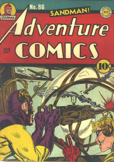 Cover for Adventure Comics (DC, 1938 series) #86