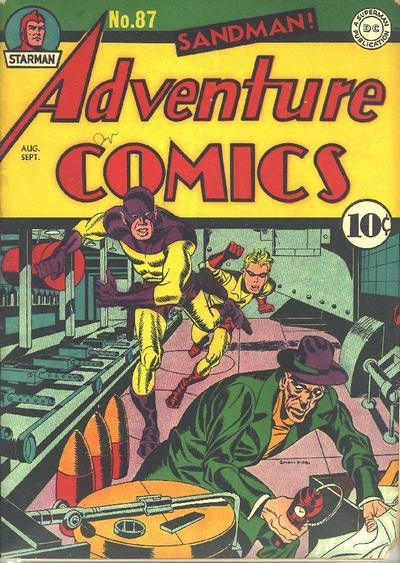 Cover for Adventure Comics (DC, 1938 series) #87