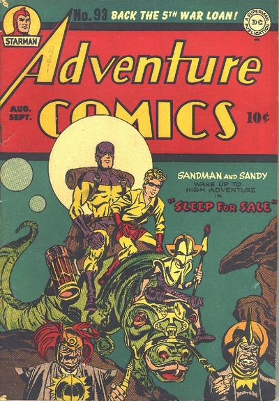 Cover for Adventure Comics (DC, 1938 series) #93