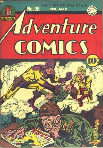 Cover for Adventure Comics (DC, 1938 series) #96