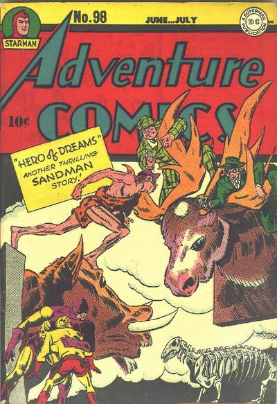 Cover for Adventure Comics (DC, 1938 series) #98