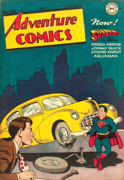Cover for Adventure Comics (DC, 1938 series) #103