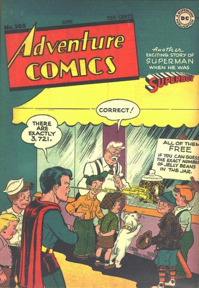 Cover for Adventure Comics (DC, 1938 series) #105